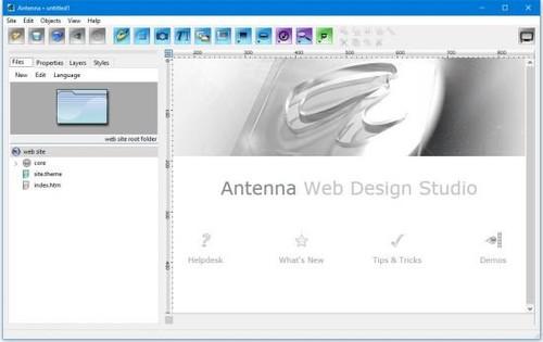 Antenna Web Design Studio 6.51 Full İndir