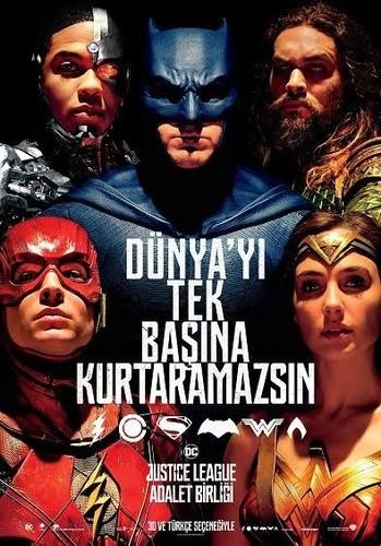 Justice League: Adalet Birliği | 2017 | 1080p | BluRay | 2 GB | Dual | TR-EN