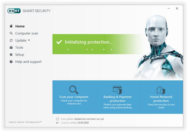 ESET NOD32 Antivirus & Smart Security 10.0.390.0