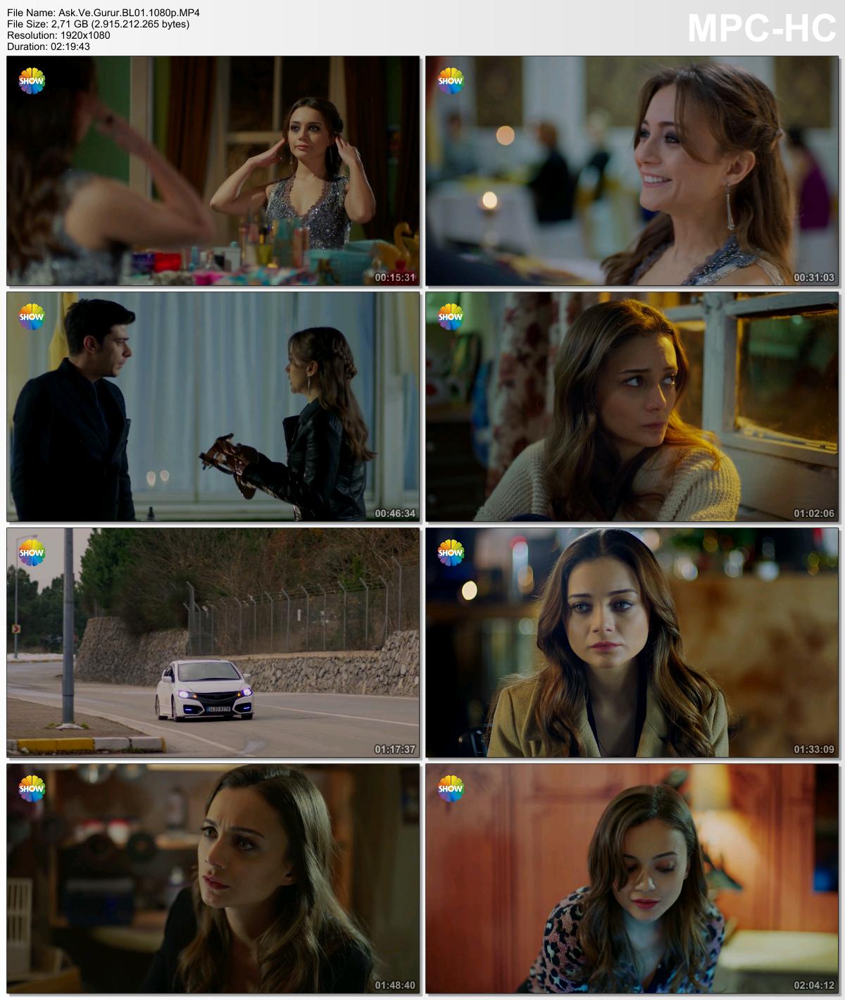Aşk ve Gurur 3.Bölüm (HD - x264 - 1080p) Tüm Bölümler - VKRG
