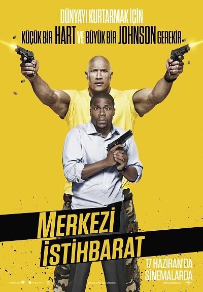 Merkezi İstihbarat - Central Intelligence (2016) türkçe dublaj film indir