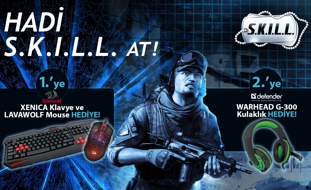 SKILL Special Force 2 Yeni Kafe Turnuvaları Başlıyor - 2016 - 2017