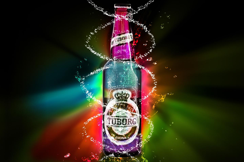 Photoshop şişe renk action çalışması