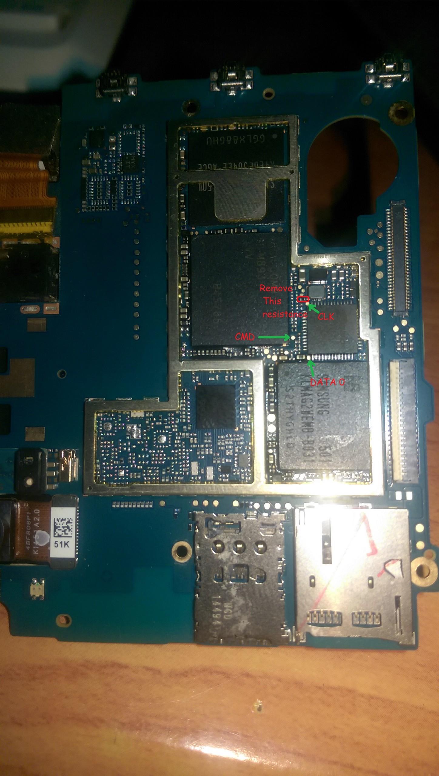 htc 820u isp pinout please and dump - Unlock Forum - RIFF Box