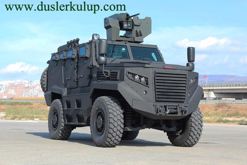 hızır 4x4 yerli zırhlı araç