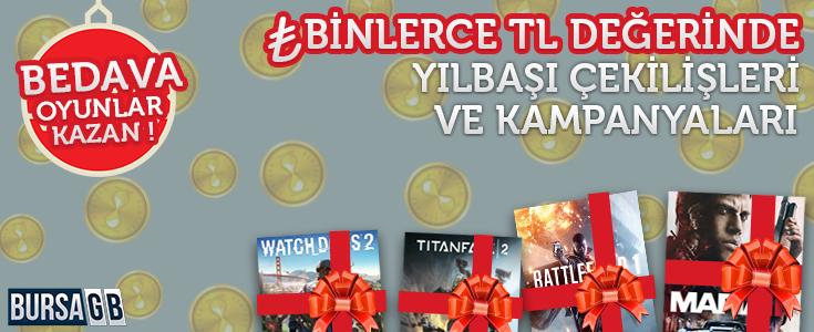 Binlerce TL Değerindeki BursaGB Yeni Yıl Etkinlikleri Başladı !