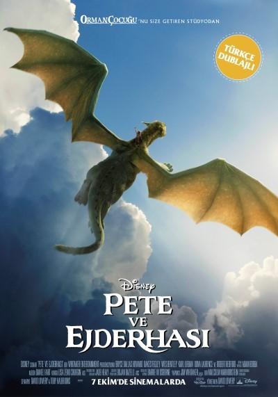 Pete ve Ejderhası (2016) türkçe dublaj indir