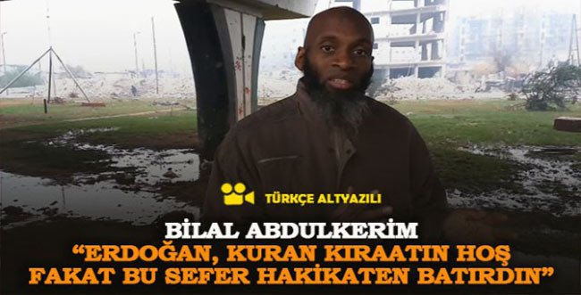 """Bilal Abdülkerim: """"Erdoğan; Kur'an kıraatin hoş fakat bu sefer hakikaten batırdın"""" (Türkçe Alt Yazılı)"""