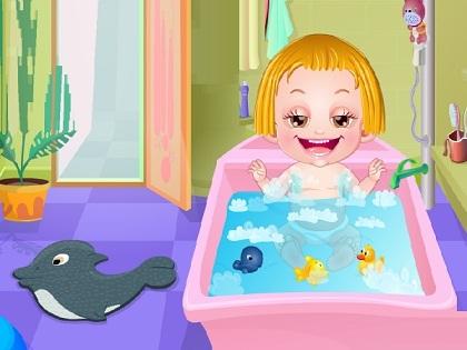 Hazel Bebek Saç Bakımı Oyunu