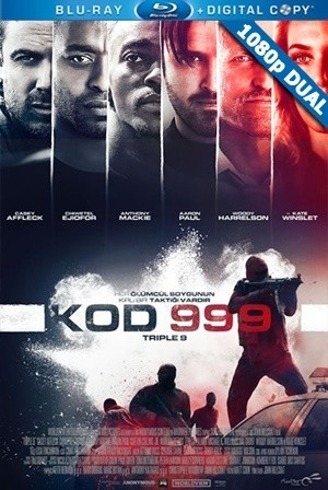 Kod 999 - Triple 9 | 2016 | BluRay 1080p x264 | DuaL TR-EN