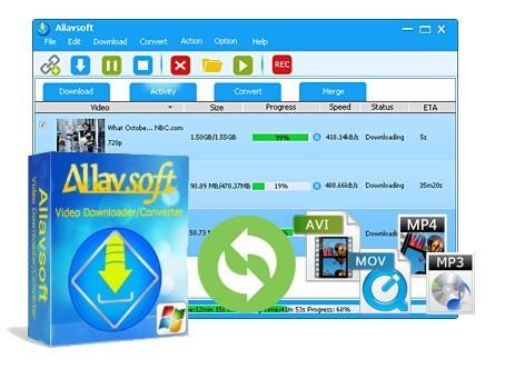 Allavsoft Video Downloader Converter  3.14.9.6452 İndir + Portable