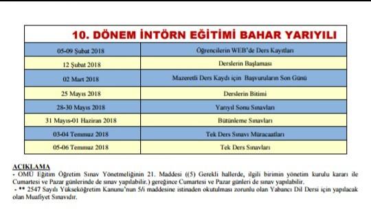 2017-2018 Akademik Takvimleri 14. resim