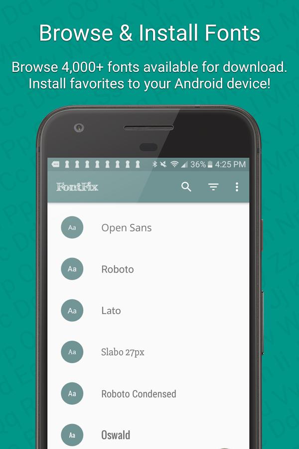 FontFix (Free) Android Pro