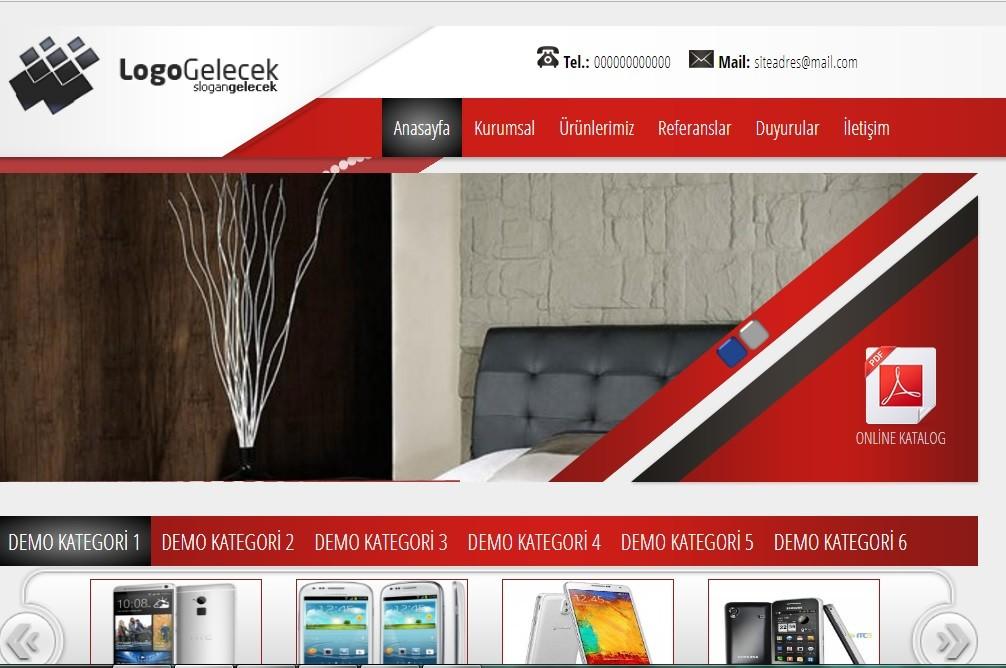 Hazır Firma Web Sitesi V3