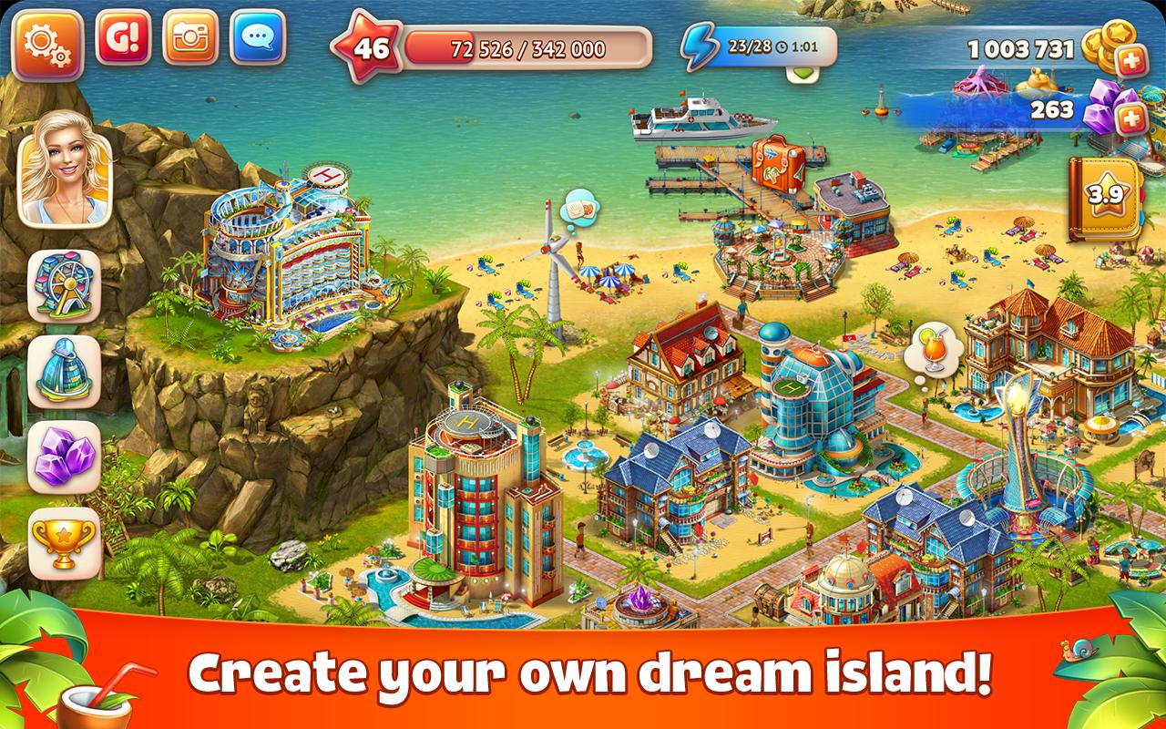 Paradise Island 2: Hotel Game Apk Mod