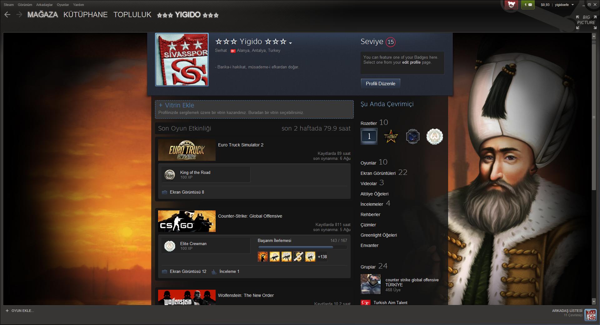 Steam Profillerinizin Resmini Sergileyin Technopat Sosyal