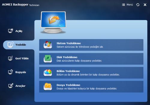 AOMEI Backupper Technician 3.2 WinPE 5 | Bootable ISO