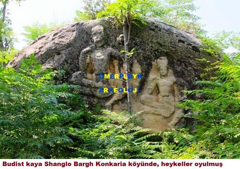Budist kaya Shanglo Bargh Konkaria