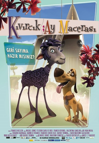 Kıvırcık: Ay Macerası – Blackie And Kanuto 2013 DVDRip XviD Türkçe Dublaj – Tek Link