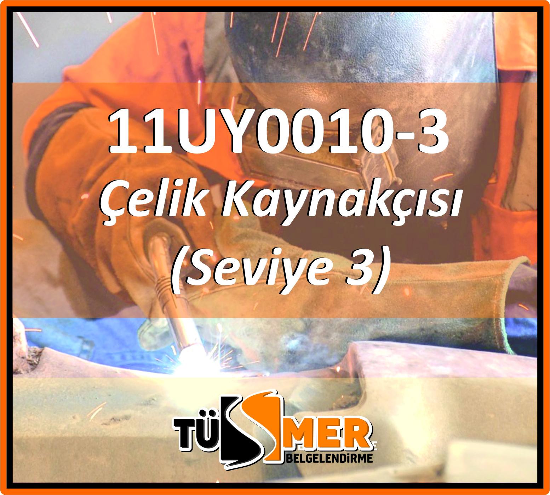 11UY0010-3 Çelik Kaynakçısı (Seviye 3)