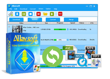 Allavsoft Video Downloader Converter 3.17.4.7085 | Katılımsız