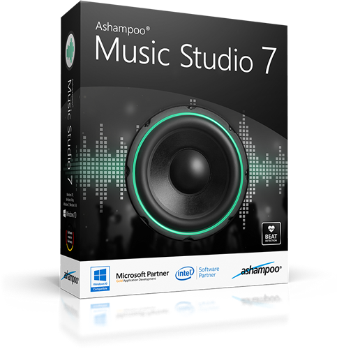 Ashampoo Music Studio 7.0.2.5 | Katılımsız