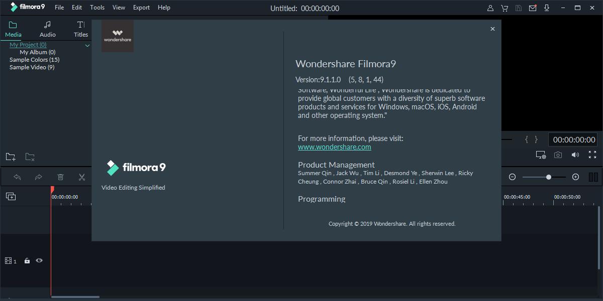 Wondershare Filmora 9.3.5.8 | Katılımsız
