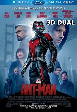 Karınca Adam 3D – 3D Ant-Man 2015 3D HALF-SBS BluRay 1080p DuaL TR-EN – Tek Link