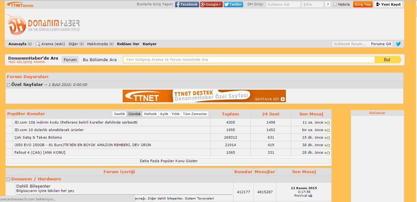 Donanım Haber Scripti - Turkhackteam.org/net - Cyber Security Platform
