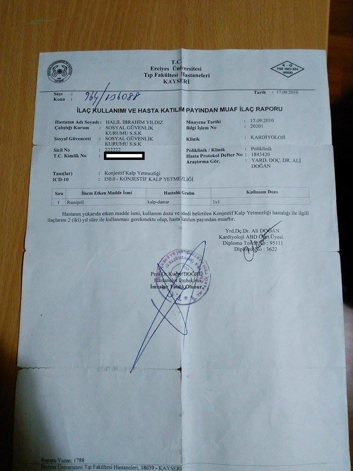 1rPDg5 - Engelli raporu ba�vurumda d���k oran verildi. Nas�l itiraz etmeliyim?