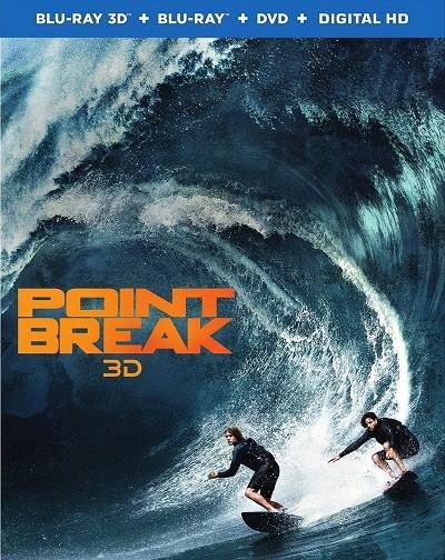 Kırılma Noktası 3D - Point Break 3D 2015 ( BluRay Half-SBS 1080p ) DuaL TR-ENG - Tek Link