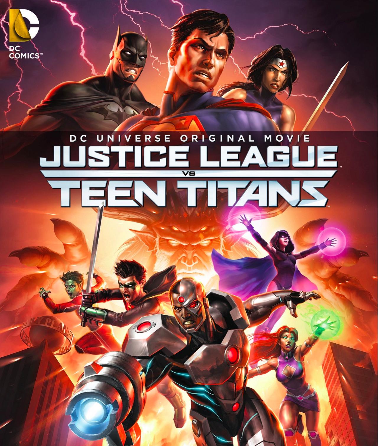 Adalet Birliği Genç Titanlara Karşı - Justice League vs. Teen Titans (2016) - türkçe dublaj film indir