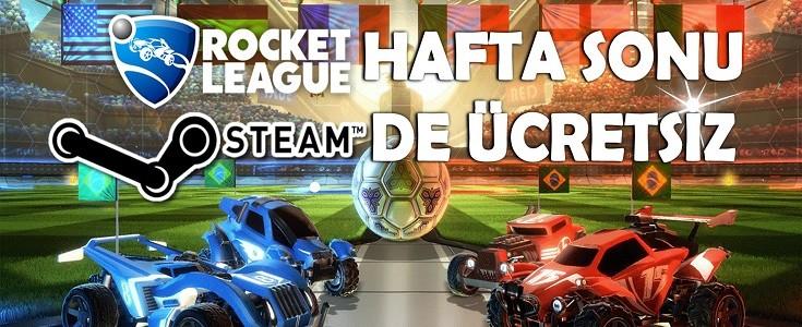 Rocket League Hafta Sonu Steam 'de Ücretsiz