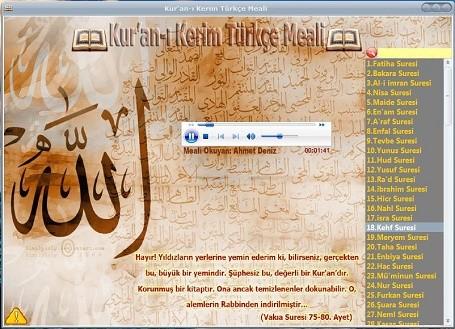 Kur'an-ı Kerim Türkçe Meali Programı v1