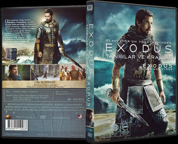 Exodus: Tanrılar ve Krallar – Exodus: Gods and Kings 2014 DVD-5 DuaL TR-ENG – Tek Link