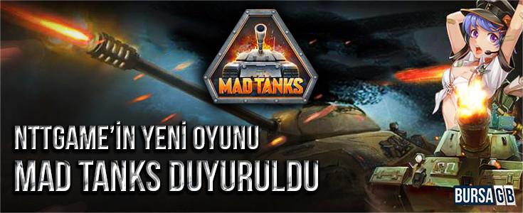 Ntt Game'den Yeni Oyun Mad Tanks
