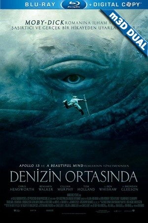 Denizin Ortasında m3D - m3D In The Heart Of the Sea | 2015 | m3D HALF-SBS Mkv | DuaL TR-EN - Teklink indir