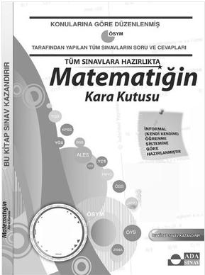 Matematigin Kara Kutusu-2 PDF indir Sandalca.com