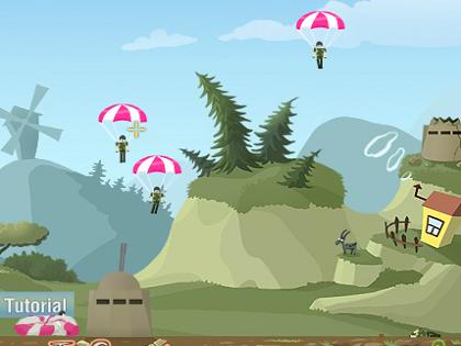 Paraşütçüleri Vur Oyunu