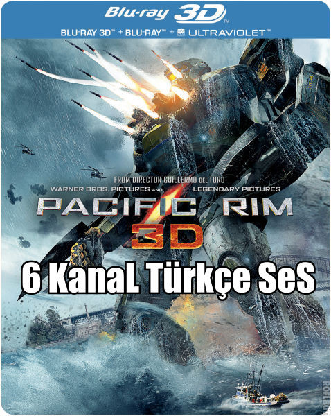 22XpRL Pasifik Savaşı   Pacific Rim 3D   TR/ENG   3D Film indir