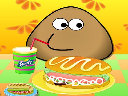 Pou Ve Sosisli Sandviçler Oyunu