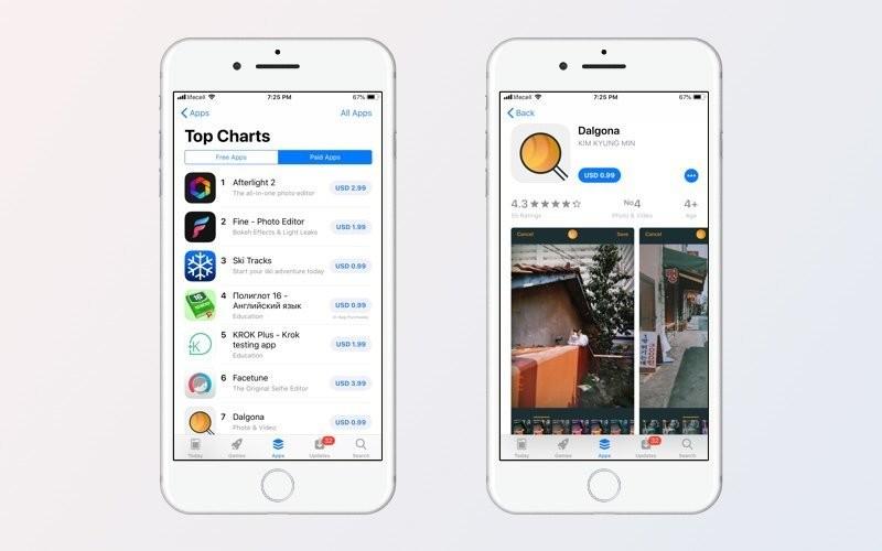App Store'da ücretli uygulamalar