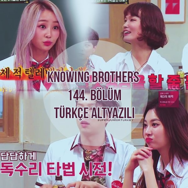 Knowing Brothers 144. Bölüm (Sistar, Girls' Day) [Türkçe Altyazılı] 26NLjv
