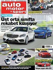 Auto Motor & Sport Türkiye Dergisi Ağustos 2015 Pdf indir