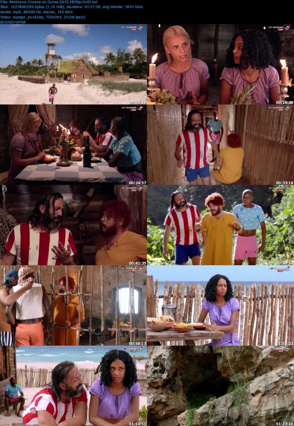 Robinson Crusoe ve Cuma Filmi