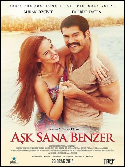 Aşk Sana Benzer 2015 Yerli Film DVDRip DVD -5 720p 1080p Download İndir Yükle