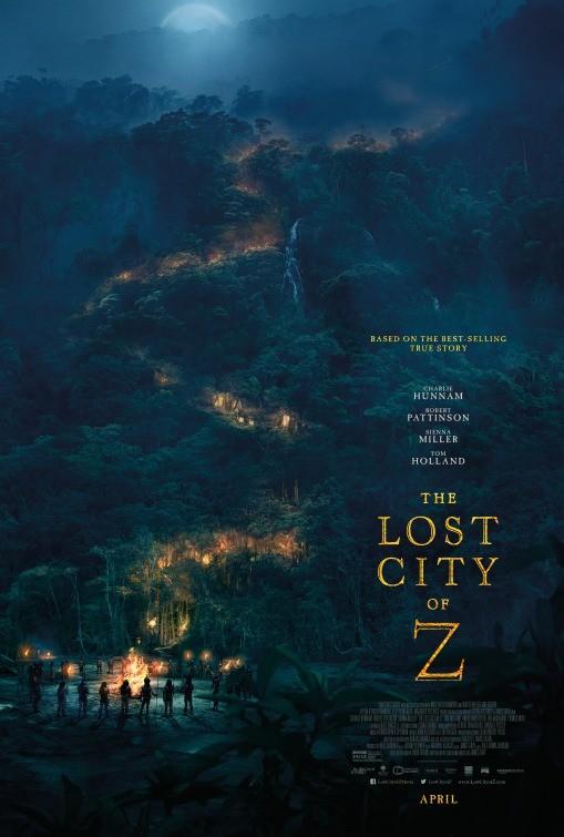 Kayıp Şehir Z – The Lost City of Z Türkçe Dublaj izle – Tek Parça