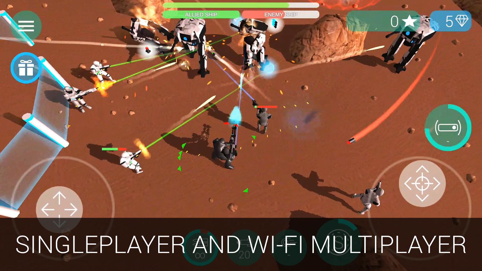 CyberSphere: Online Sci-fi Shooter Apk