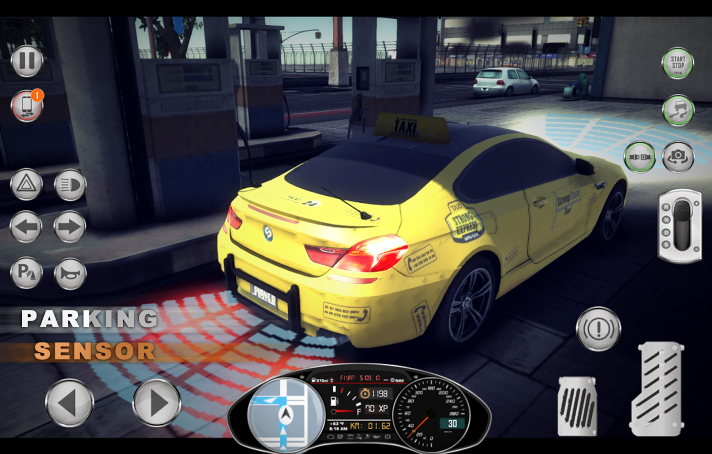 Amazing Taxi Sim 2017 V3 Android Oyun