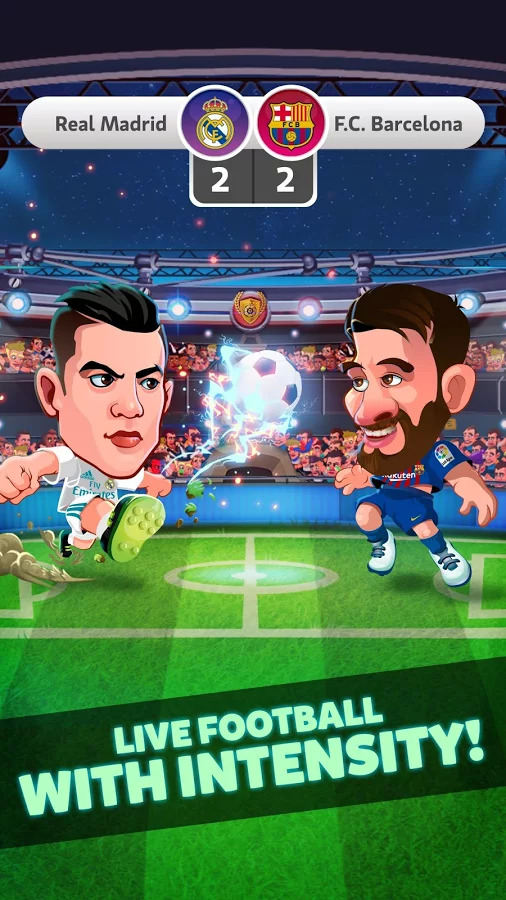 Head Soccer La Liga 2018 Android